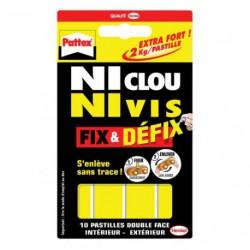 NI CLOU N.V FIX ET DEFIX 10PASTILLES