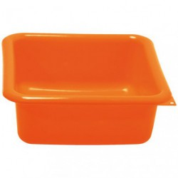 CUVETTE CARREE 29CM 5.5L ORANGE