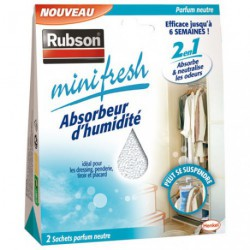 ABSORBEUR MINIFRESH NEUTRE 2X50G