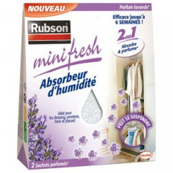 ABSORBEUR MINIFRESH LAVANDE 2X50G