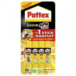 PATTEX JUNIOR SUPER STICK 11G 3+1G RDC