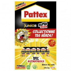 PATTEX JUNIOR SUPER STICK 11G X10