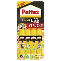 PATTEX JUNIOR SUPER STICK 22G 3+1G RDC