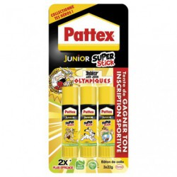 PATTEX JUNIOR SUPER STICK 22G X3   RDC