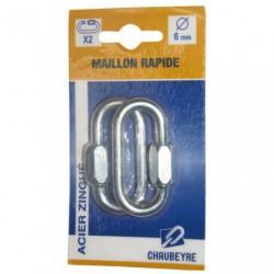MAILLON RAPIDE  6 MM  AZ  SC/2