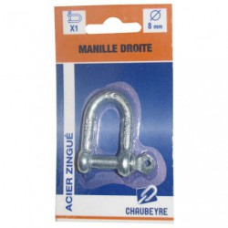 MANILLE DROITE STD  8MM Z  SC
