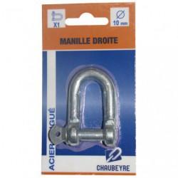 MANILLE DROITE STD 10MM Z  SC