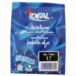 TEINT.IDEAL MULTIFIBR.SAC/15G NOIR  17