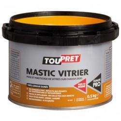 MASTIC TOUPRET VITRIER BLANC 0.5KG GSB