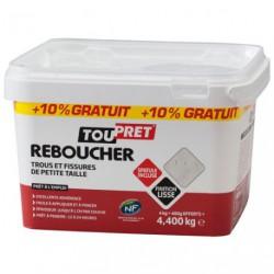 ENDUIT REBOUCH.PATE 4KG+10%GR SPAT GSB