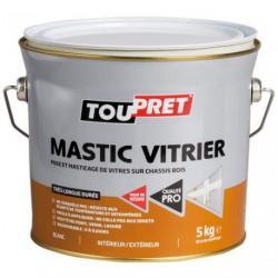 MASTIC TOUPRET VITRIER BLANC 5KG   GSB