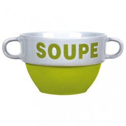 BOL A SOUPE VELOUTE VERT