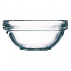 SALADIER TRANSPARENT D.29CM EMPILABLE