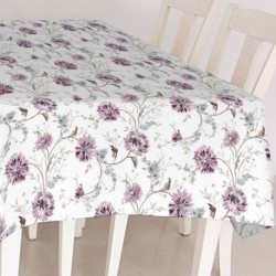 PROTEGE TABLE IMPRIM.AQUA VIOLET 140CM