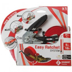 SANGLE EASY RATCHET SYSTEM 25MMX5M