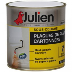 JULIEN S/COUCHE J6 PLAQUE PLATRE  0.5L