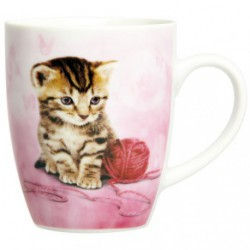 MUG MINI CATS ASSORTIS NOVASTYL 40CL
