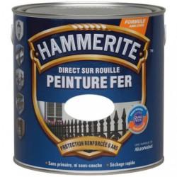 HAMMERITE FER BRI.LAQUE 2.5L BLANC