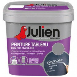 PEINT.TABLEAU MAT 0.5L GRIS TAUPE