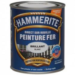 HAMMERITE FER BRI.LAQUE 0.75L ROUGE