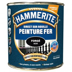 HAMMERITE FER FORGE 2.5L NOIR