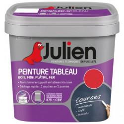 PEINT.TABLEAU MAT 0.5L ROUGE INTENSE