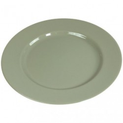 TAUPE ASSIETTE PLATE 26CM