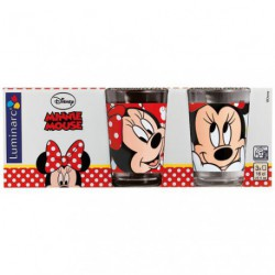 GOBELET OH MINNIE 16CL ASSORTI X3
