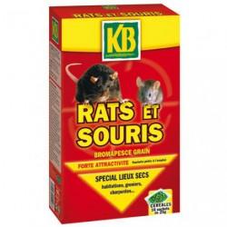 RATS ET SOURIS GRAINS KB 400G      /NC
