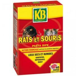 RATS ET SOURIS PATES 40X10G       /NCA