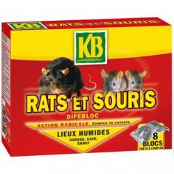 RATS ET SOURIS BLOCS 240G KB      /NCA