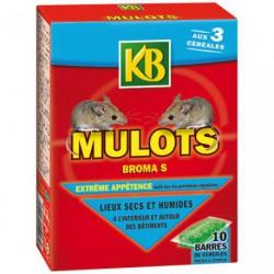 MULOTS 10 BARRES CEREALES DE 30G KB/NC
