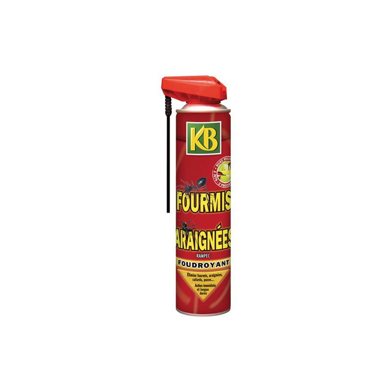 Anti fourmis araignees kb aero400ml nc maison de la for Anti fourmi naturel maison