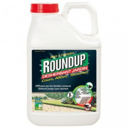 ROUNDUP ALLEES TERRASSES 5L PAE