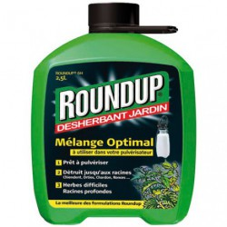 ROUNDUP HERBES DIFF. PULVE. 2 5 L