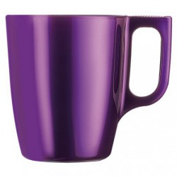MUG FLASHY COLORS VIOLET 25CL