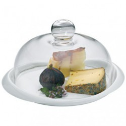 CLOCHE VERRE + PLATEAU A FROMAGE