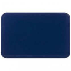 SET DE TABLE UNI BLEU FONCE