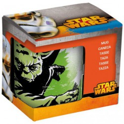 MUG COFFRET STAR WARS YODA 32CL