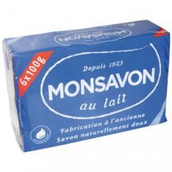 SAVONNETTE MONSAVON BAIN 6X100G  72572