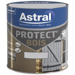 PROTECT BOIS SAT. 0.5L GRIS CL-MOUETTE