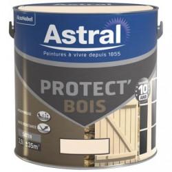 PROTECT BOIS SAT. 2.5L BLANC CASSE