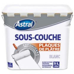 SOUS COUCHE PLAQ.PLATRE BLANC 5L