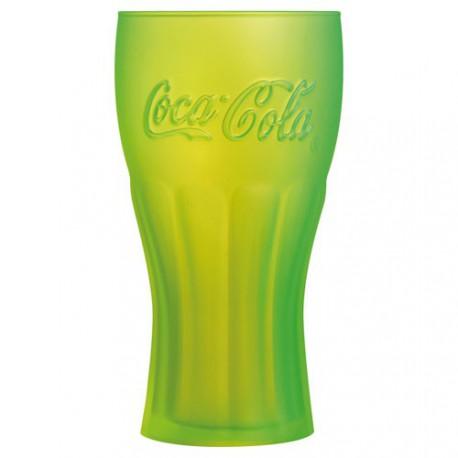 COCA COLA JAUNE GOBELET FH 37CL