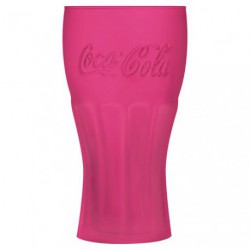 COCA COLA ROSE GOBELET FH 37CL