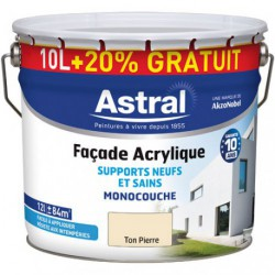 FAC.ACRY. 10L+20%GR.TON PIERRE