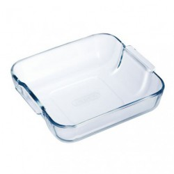 PLAT A FOUR CARRE 21X21 PYREX