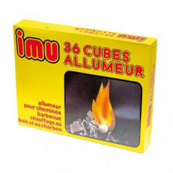 IMU ALLUMEUR CUBE BOITE DE 36