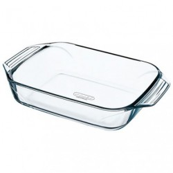 PLAT A FOUR RECTANGULAIRE 39X25 PYREX.