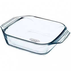 PLAT A FOUR CARRE 25X25 PYREX